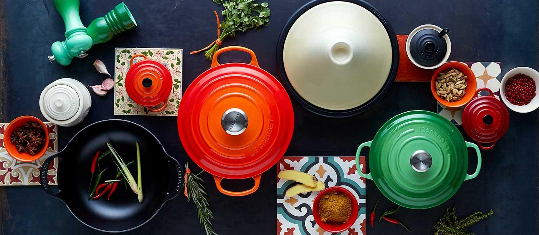 Le Creuset bakeware tableware