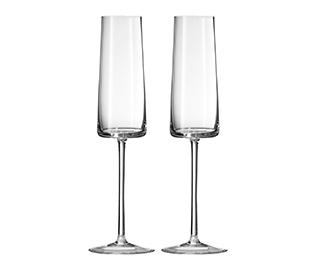 Vera Wang champagne flutes