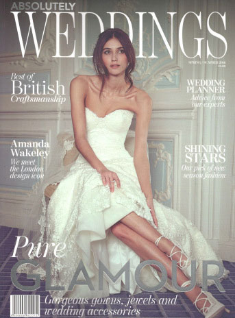 Absolutely Weddings Spring Summer 2016 Cover