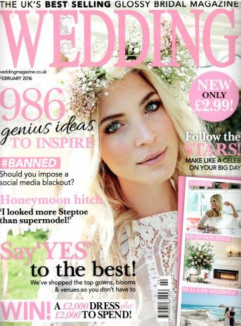 Wedding Magazine February 2016 Cover