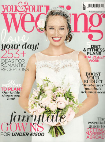 You and Your Wedding November 2015 Cover