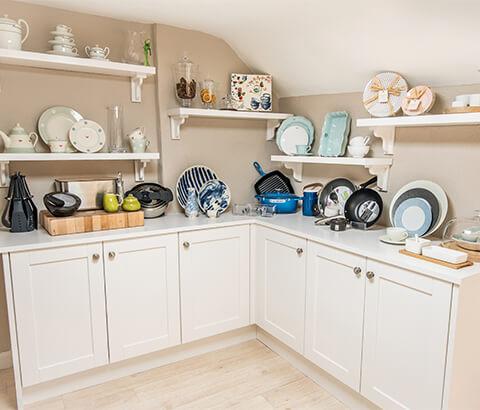 Dublin showroom kitchen