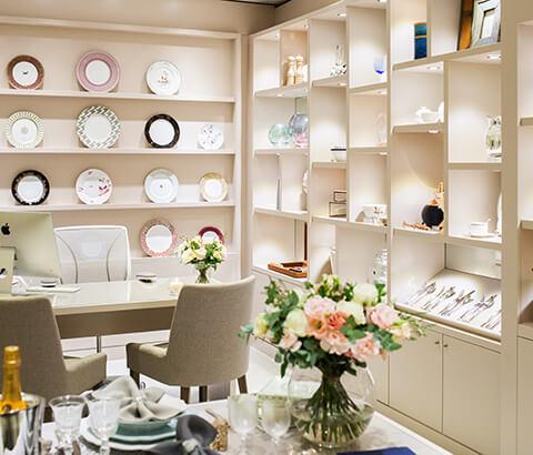 Selfridges The Wedding Shop showroom